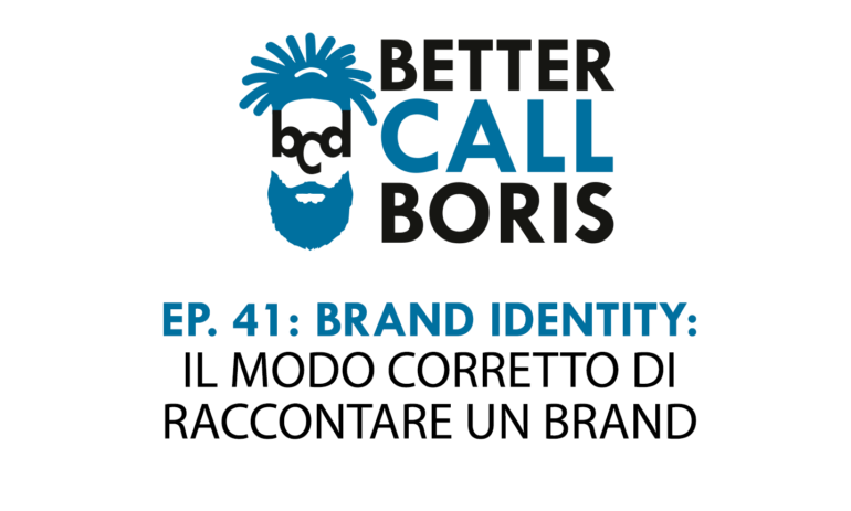 Better Call Boris Episodio 41: La Brand Identity