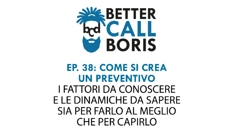 Better Call Boris Episodio 38: Il preventivo