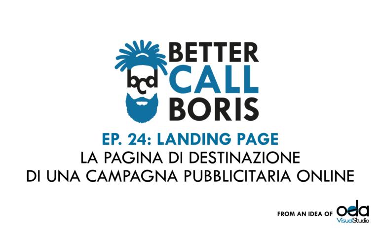 Better Call Boris episodio 24: Le Landin Page – istruzioni per l'uso