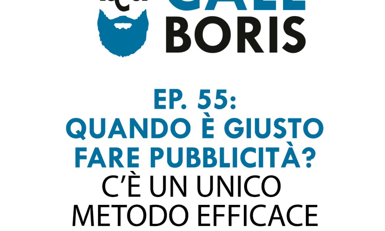 Better Call Boris episodio 55: Quando è giusto promuoversi