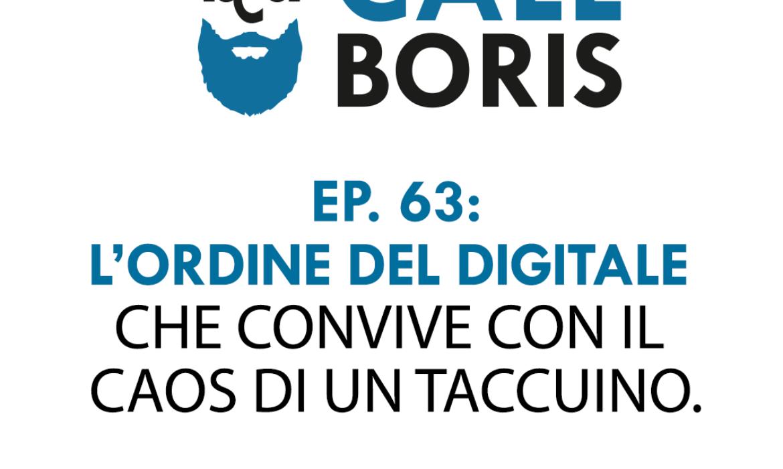 Better Call Boris episodio 63 – Il taccuino
